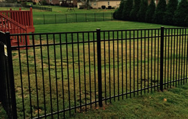 Low cost aluminum fence of Nashville