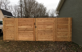 nashville custom fence contractor